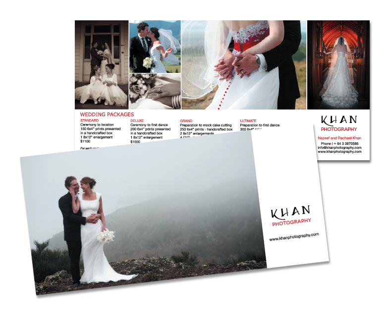 Khan Photography - Brochure design