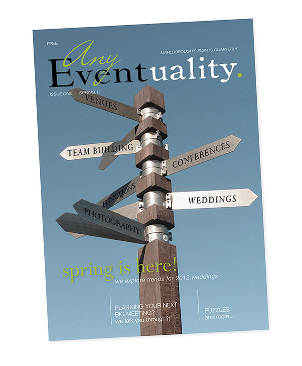 Magazine Publication Design / Any Eventuality