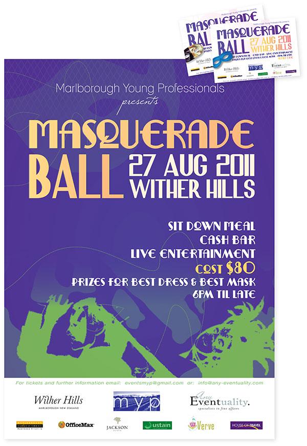 Poster Design / Masquerade Ball
