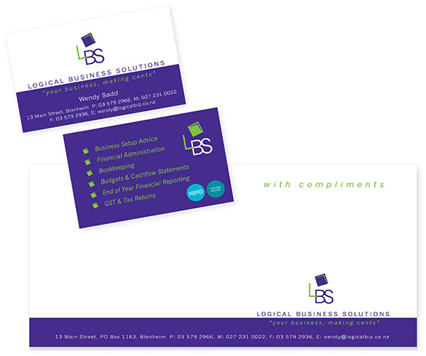 Logo and Stationery Design / Logical Business Solutions