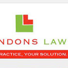 Lundons Law website design